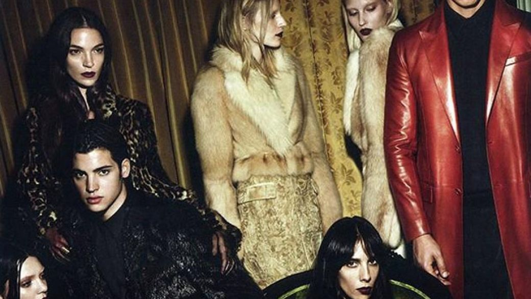 Givenchy fall-winter 2014 campaign