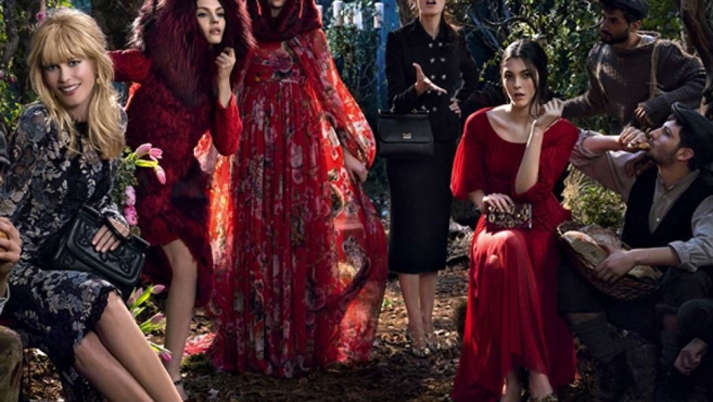 Dolce&Gabbana fall-winter 2014-2015 campaign