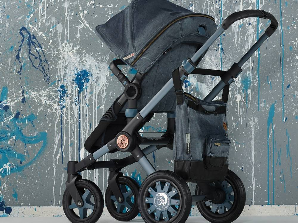 Коляски Bugaboo by Diesel Denim Collection